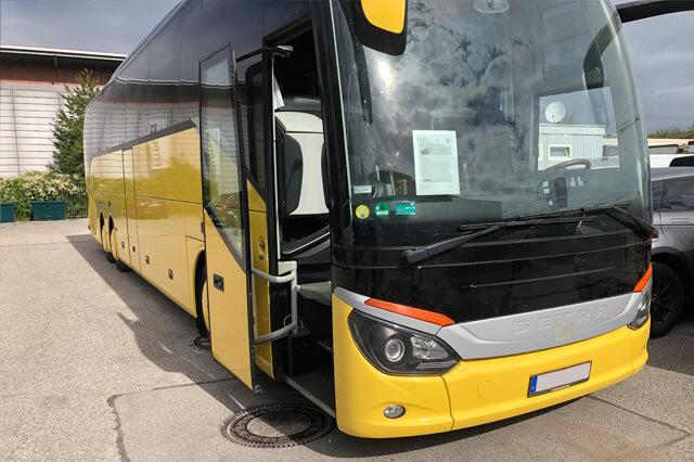 Instandsetzung eines Busses in Feldkirchen von Auto Klassik Kiraly